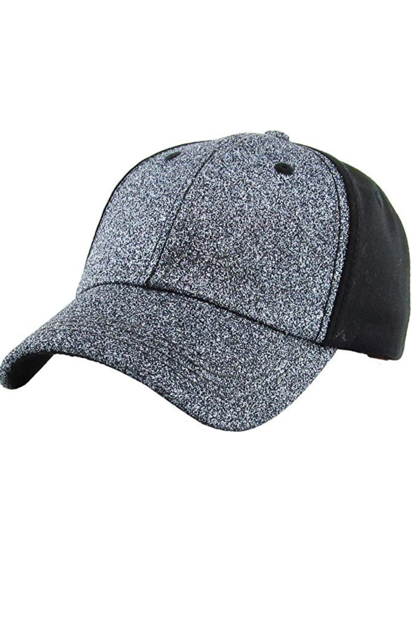 6b353443d6207 All That Glitters Ponytail Baseball Cap – Pink Slate Boutique