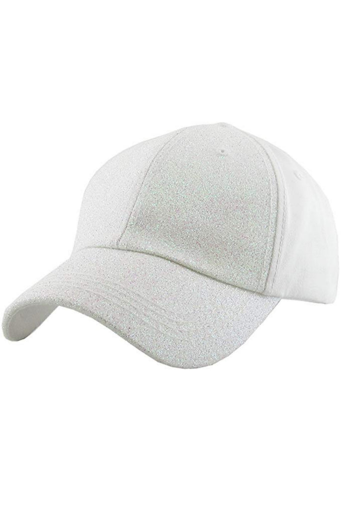 All That Glitters Ponytail Baseball Cap
