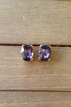 Load image into Gallery viewer, Gorgeous Gems Earrings  (Purple)