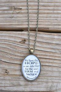 Hope as an Anchor Necklace (Redeemed Jewelry)