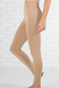 Amazing Fleece Lined Leggings (Khaki)