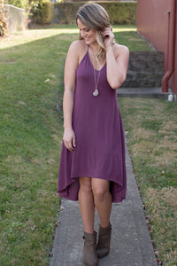 Plum Perfection Dress