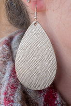 Load image into Gallery viewer, Champagne Wishes Leather Earrings