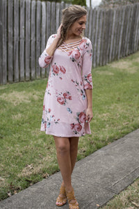 Brunch Beauty Dress (Blush)