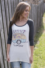 Load image into Gallery viewer, Happy RV Camper Tee