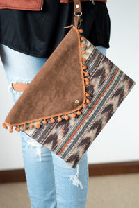 Around the World Purse (Cognac)