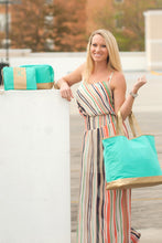 Load image into Gallery viewer, Cabana Wristlet (Mint)