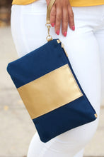 Load image into Gallery viewer, Cabana Wristlet (Navy)