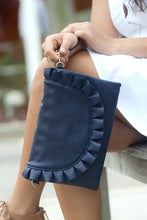 Load image into Gallery viewer, Heart Flutters Clutch (Navy)