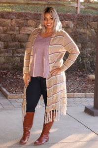 Candy Stripes Cardi