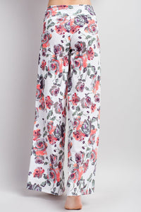 The VIP Lounge Pants  (White)