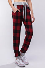 Load image into Gallery viewer, Buffalo Plaid Joggers