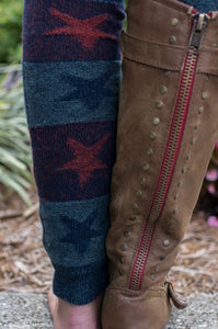 Let Freedom Ring Boot Cuff