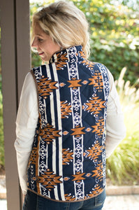 Out on an Adventure Vest (Navy)