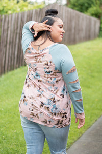 Get the Look Top Curvy (Floral)