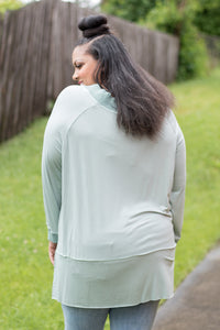 Sweet Dream Top (Dusty Mint)
