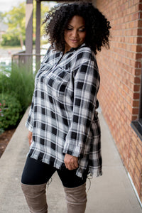 Bonfire Material Tunic (Black)