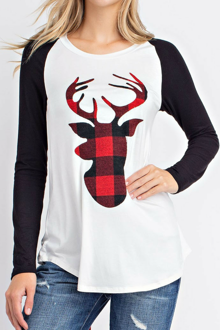 Looking for Rudolph Tee (Black)