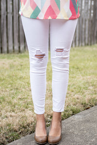 Get the Skinny Denim (White)