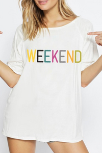 Weekend Graphic Top
