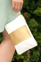 Load image into Gallery viewer, Cabana Wristlet (White)