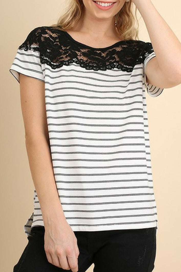 Treasured Memory Top (White)