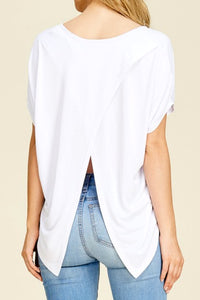 Split Decision Top (White)