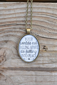 Falling into Place Necklace (Redeemed Jewelry)