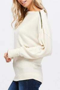 Zipped Lips Sweater