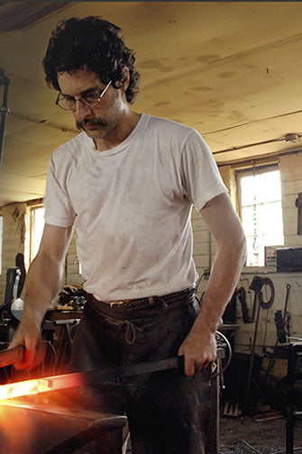 Steve Bronstein, Blacksmith, of Blackthorne Forge