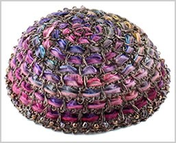 Handmade Wire Kippot For Women
