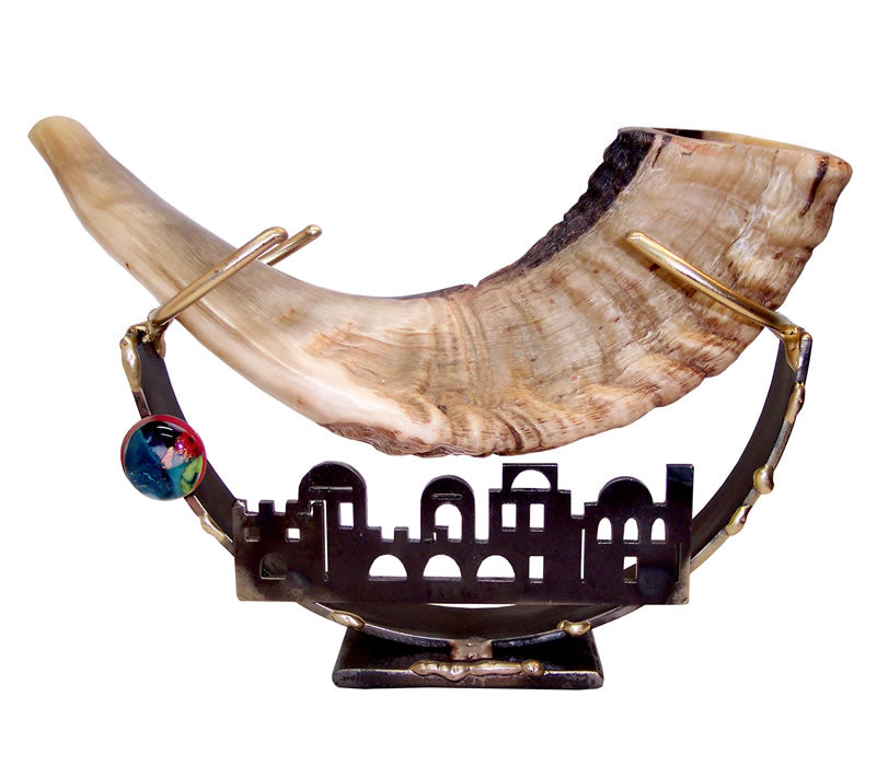 Gary Rosenthal Jerusalem Shofar Holder