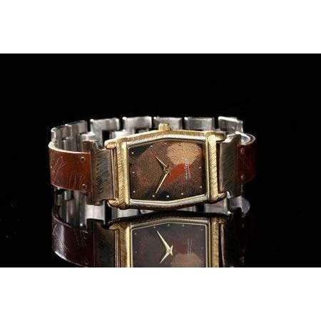 Eduardo Milieris Montevideo Watch: Copper Dial Design on Narrow Band