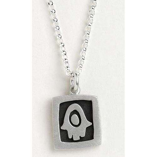 Emily Rosenfeld Hamsa Hand Jewelry Necklace in Sterling Silver