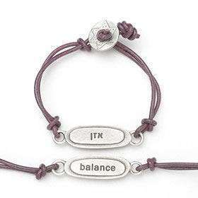 Emily Rosenfeld Hebrew/English Balance Bracelet