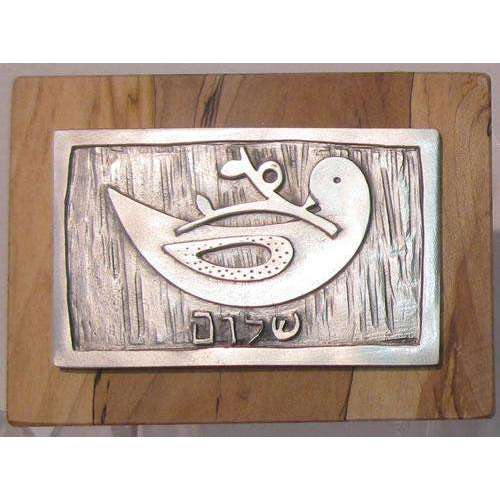Emily Rosenfeld Peace Dove Wall Plaque