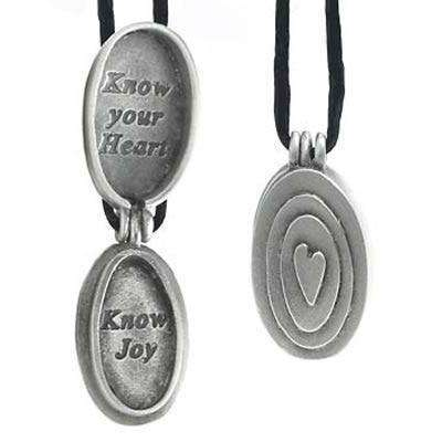 Emily Rosenfeld Pewter Joy Locket Pendant