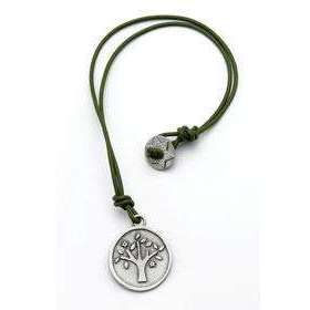 Emily Rosenfeld Round Tree of Life Pendant Necklace
