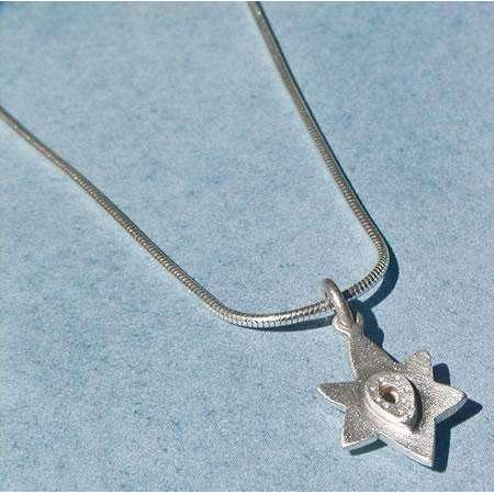 Emily Rosenfeld Sterling Silver Star of David Necklace