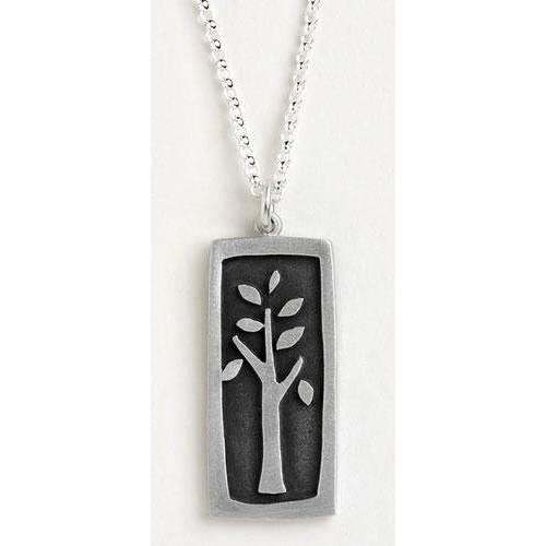 Emily Rosenfeld Sterling Silver Tree of Life Charm Necklace