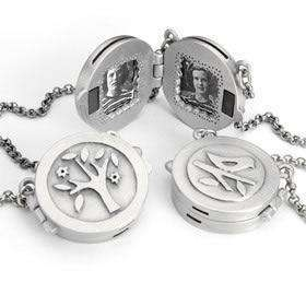 Emily Rosenfeld Tree Locket Necklace
