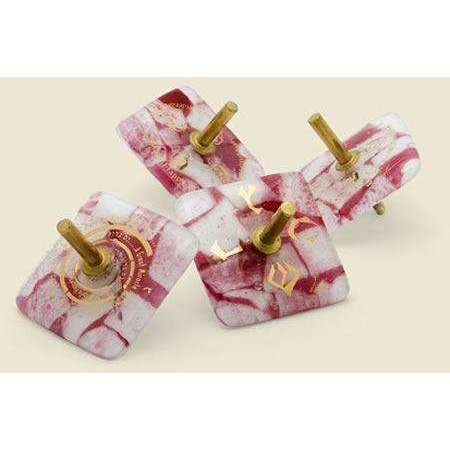 Gary Rosenthal Breast Cancer Awareness Collection Dreidel Tops
