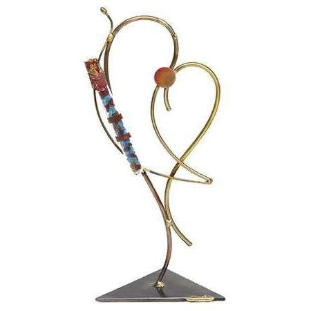 Gary Rosenthal Heart Sculpture