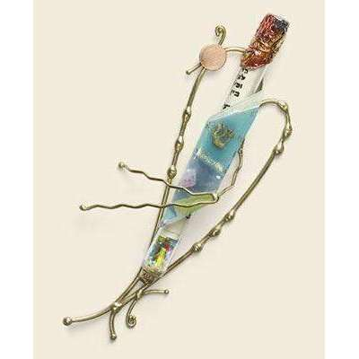 Gary Rosenthal Heart Shaped Wedding Mezuzah
