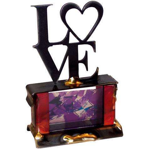 Gary Rosenthal Love Wedding Glass Holder