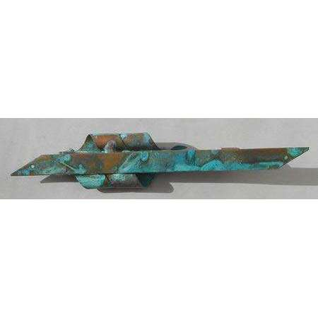 Gary Rosenthal Solid Patina Mezuzah