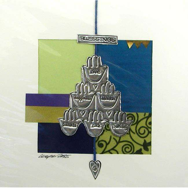 Iconz Hamsa Blessings Jewish Wall Art