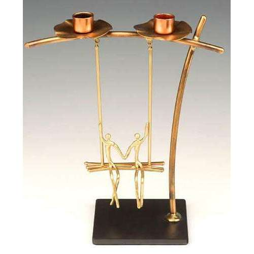 Infinity Art in Metal Special Moments Candlesticks