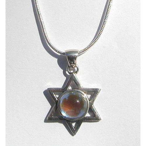 LeightWorks Star of David With Clear Crystal
