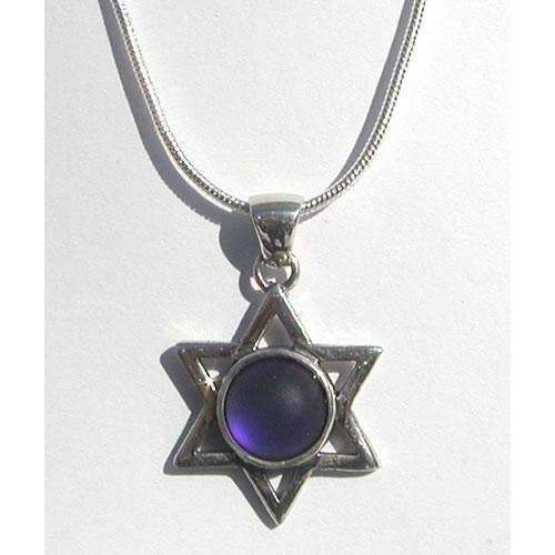 LeightWorks Star of David With Purple Crystal